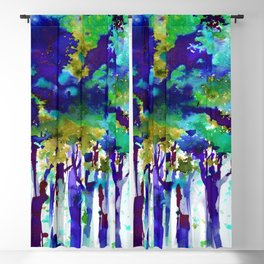 Song Of The Trees 9e by Kathy Morton Stanion Blackout Curtain
