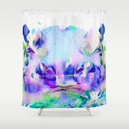 Unpredictable Shower Curtain