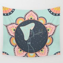 Mushroom Babe Wall Tapestry