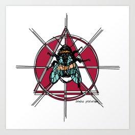 Bombus Pascuorum Art Print