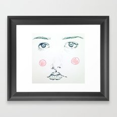 Blush Framed Art Print