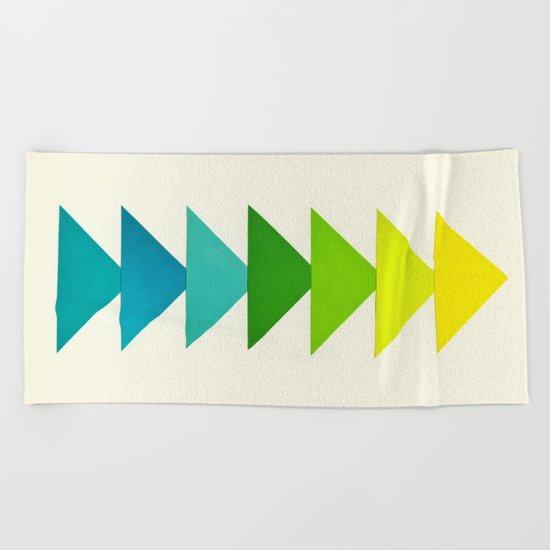 Arrows I Beach Towel