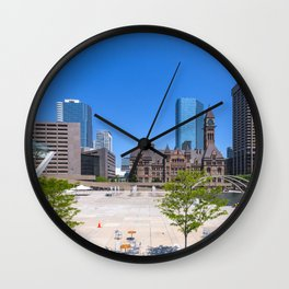 TORONTO 09 Wall Clock
