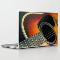 guitar Laptop & iPad Skins featuring Guitar by Bruce Stanfield