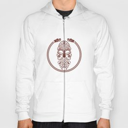 Knotted Viking Dragon Circle Hoody