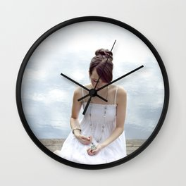 Clouds 2 Wall Clock