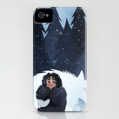 Snow and Ghost iPhone (4, 4s) Slim Case
