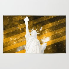 Liberty Gold Pop Art Rug