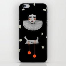 Rodinia in Black iPhone & iPod Skin
