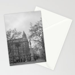 Plaza Cagancha - Montevideo Stationery Cards