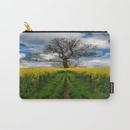Field Of Rapeseeds Carry-All Pouch