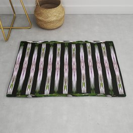 Pink Stars and Stripes Rug