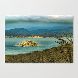 Landscape Scene at Machalilla National Park Ecuador Canvas Print