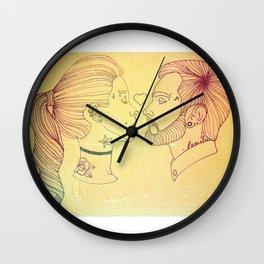 I love tattoos, too Wall Clock