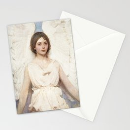 Angel, 1887 by Abbott Handerson Thayer Stationery Cards