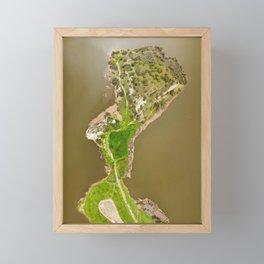 The fjords of Limassol Framed Mini Art Print