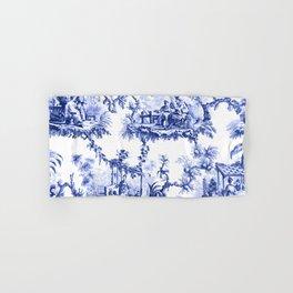 Blue Chinoiserie Toile Hand & Bath Towel