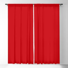 Valiant Bright Red Poppy 2018 Fall Winter Color Trends Blackout Curtain
