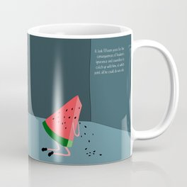 regret never misses a delivery. Coffee Mug
