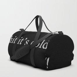 Winter Poem Duffle Bag