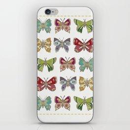 Butterfly butterfly iPhone Skin