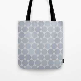 Star Of David | Modern Geometry Tote Bag