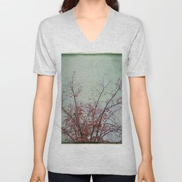 Nature has arms for those who need a hug Unisex V-Neck