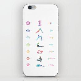 7 Chakras iPhone Skin