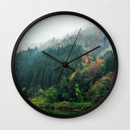 Autumn Adventure Wall Clock
