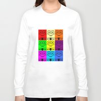 spongebob Long Sleeve T-shirts featuring Spongebob by chauloom