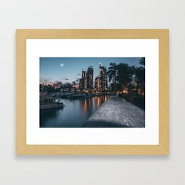 Singapore #society6 #decor #buyart Framed Art Print
