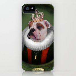 English Bulldog Art - Lucy iPhone Case