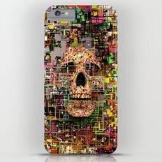 White Noise iPhone 6 Plus Slim Case