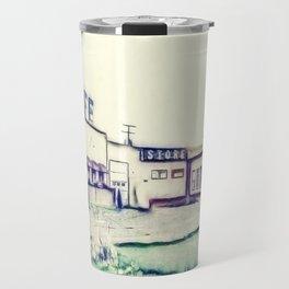 Dog River and Corner Gas Travel Mug