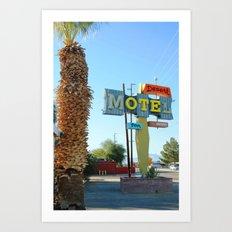 Desert OTE Art Print