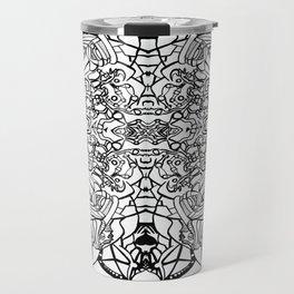 Abstract Pattern Travel Mug