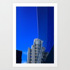 New York Illusion  Art Print