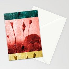 Poppy Art Image Stationery Cards