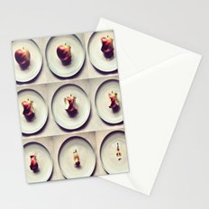 Apple life Stationery Cards