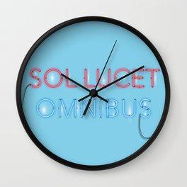 SOL LUCET OMNIBUS Wall Clock
