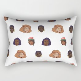 Black Girls Rectangular Pillow