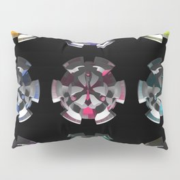 3D Mystery - Space Invasion Pillow Sham