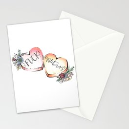 F Politeness Stationery Cards