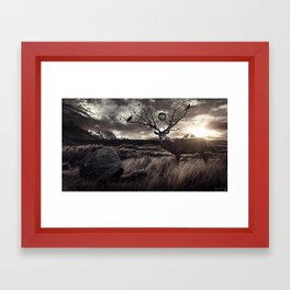 Departed Soul Framed Art Print