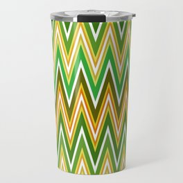 Sawtooth wave in retro colors Travel Mug