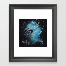 """Fearless"" Framed Art Print"