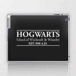 Hogwarts School of Witchcraft & Wizardry (Black) Laptop & iPad Skin