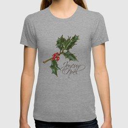Holly Sprig - Joyeux Noël T-shirt
