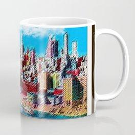 Midtown Manhattan New York City Skyline Portrait - Jéanpaul Ferro Coffee Mug