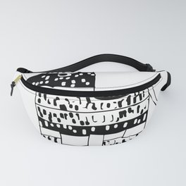 I'd Hit That Pinata Design Cinco de Mayo fifth may party product Fanny Pack